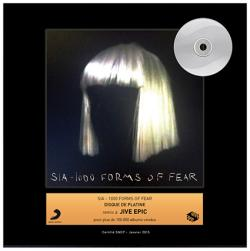 Disque d'or pour SIA, album 1000 forms of fear