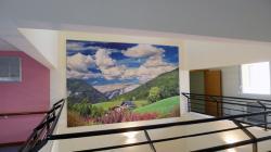 Tableau grand format - Maison de retraite Les Bruyères