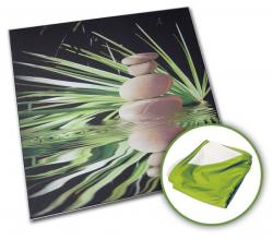 Montage d'un tableau sur cadre alu - Impression par sublimation
